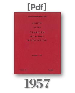 1957 Bulletin Cover