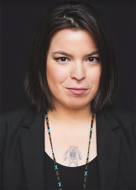Natasha Kanapé Fontaine portrait